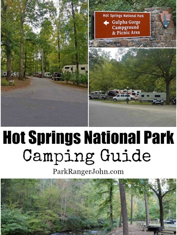 Hot Springs National Park Camping