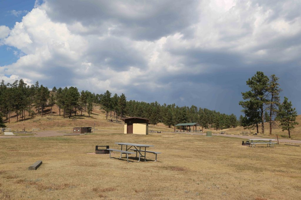 Wind Cave National Park is located in the Black Hills of South Dakota. The parks only established campground is the Elm Mountain Campground #WindCave #NationalPark #ElkMountain #SouthDakota