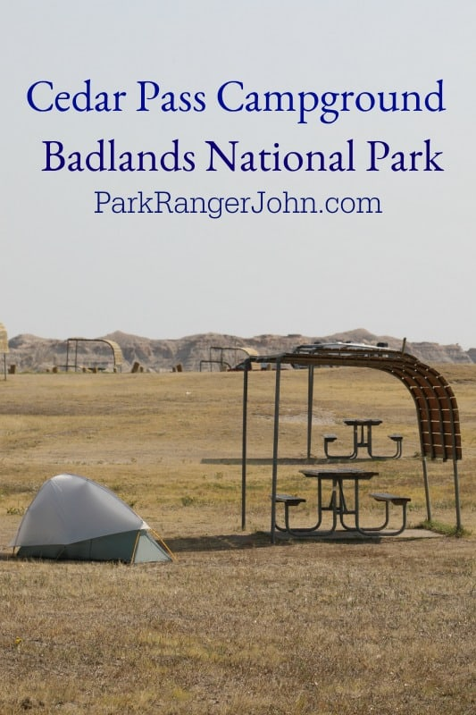 Cedar Pass Campground – Badlands National Park