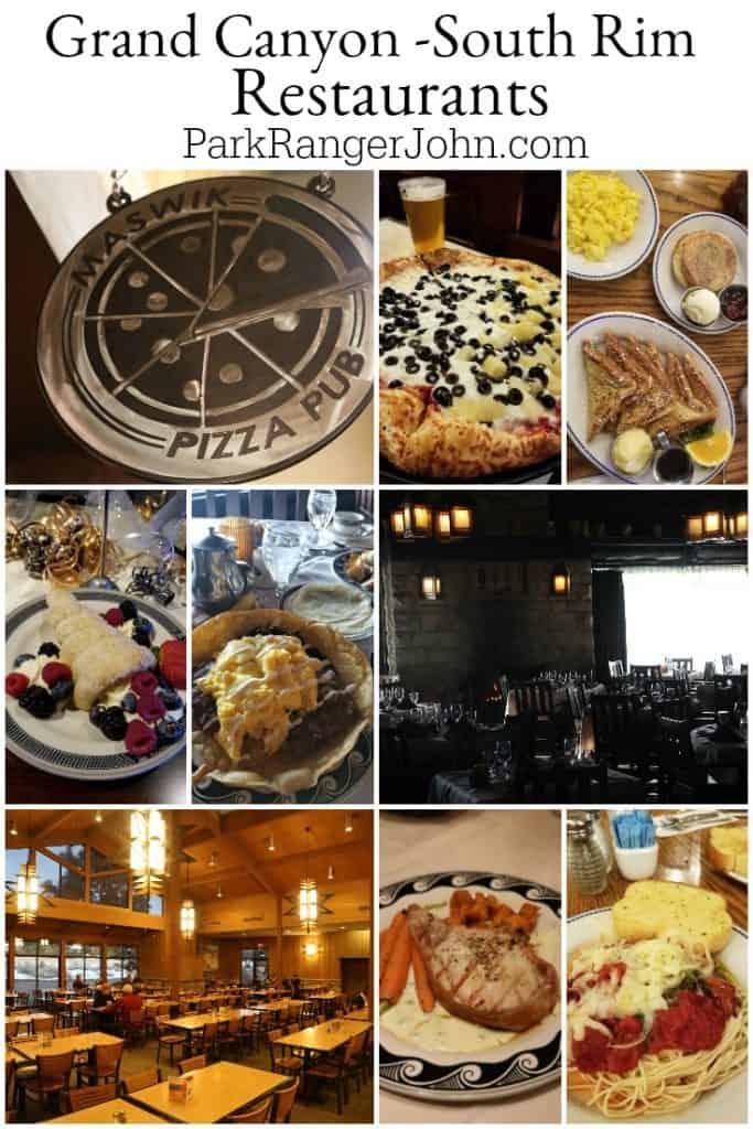 Grand Canyon Restaurants South Rim Park Ranger John