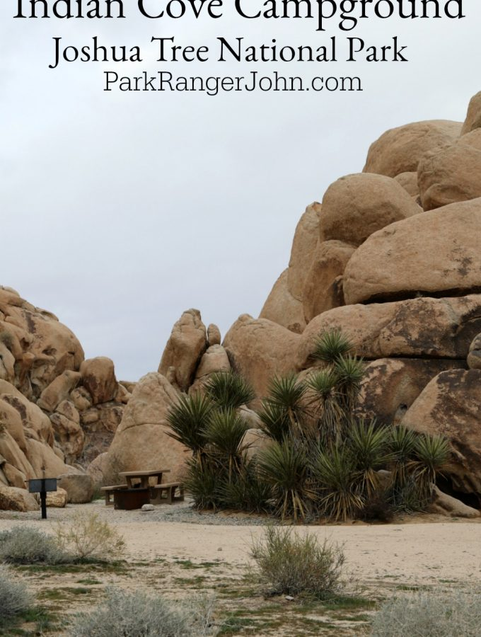 Indian Cove Campground – Joshua Tree National Park