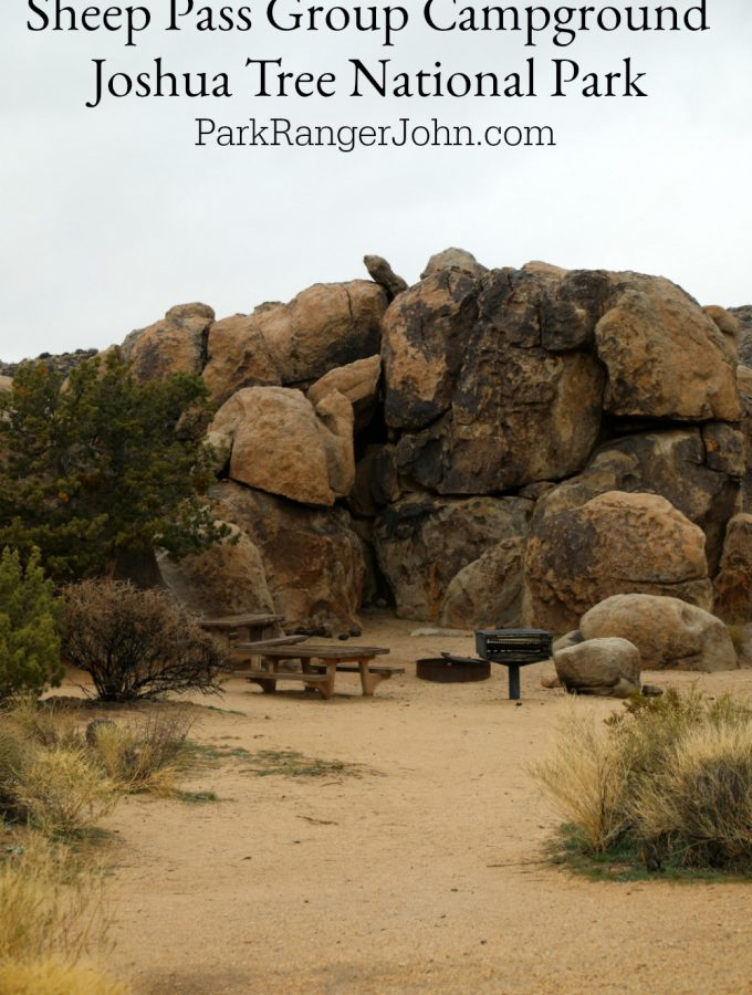 Sheep Pass Group Campground – Joshua Tree National Park