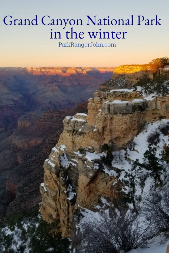 Grand Canyon Winter Guide Park Ranger John