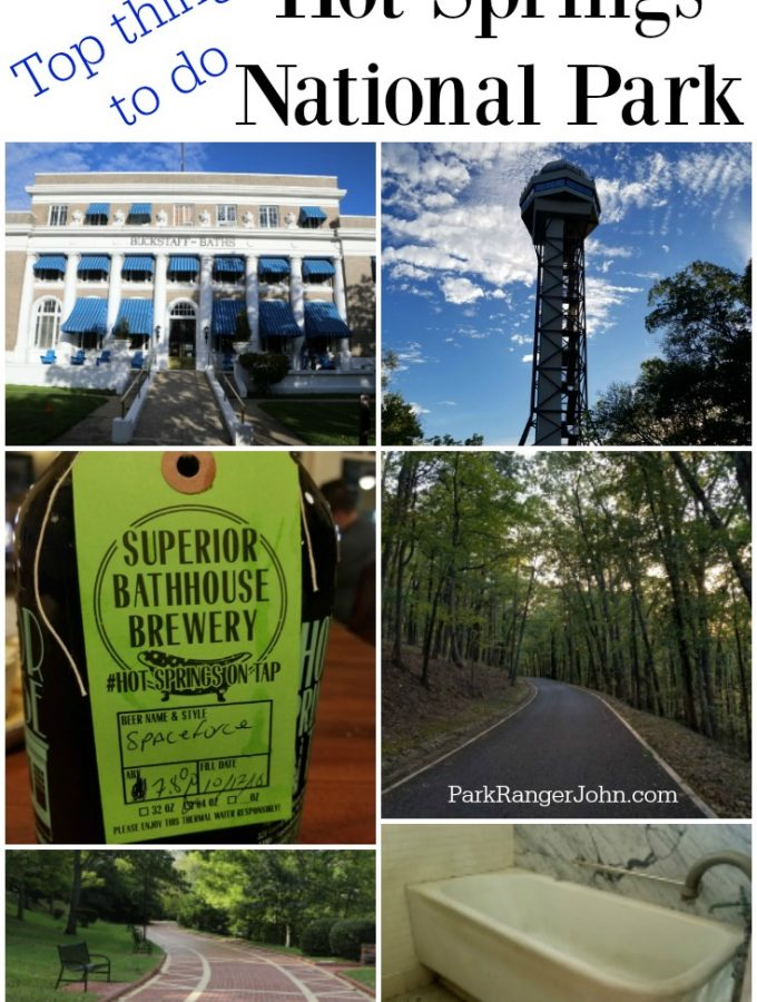 Things to do in Hot Springs National Park