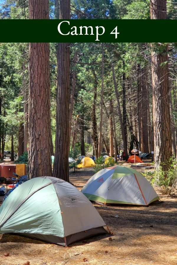 Camp 4 – Yosemite National Park