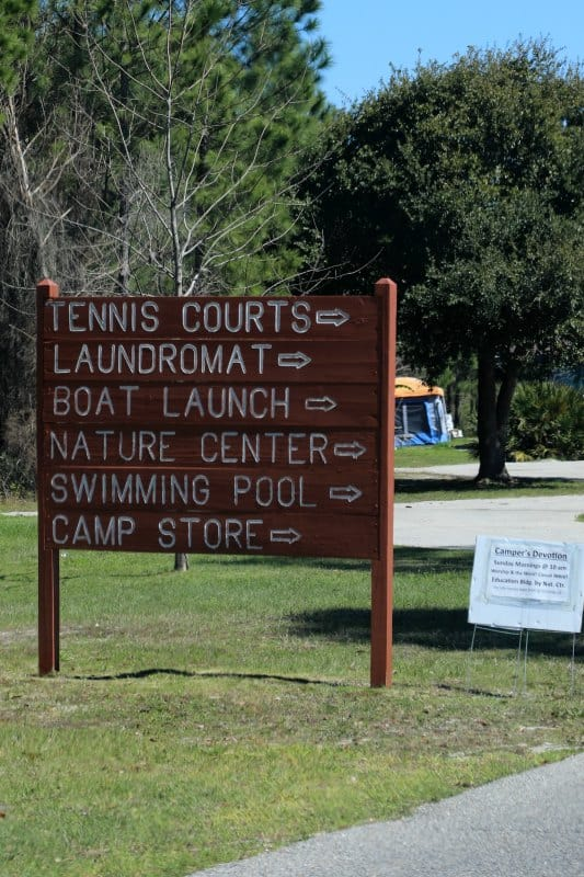Gulf State Park Campground - Park Ranger John