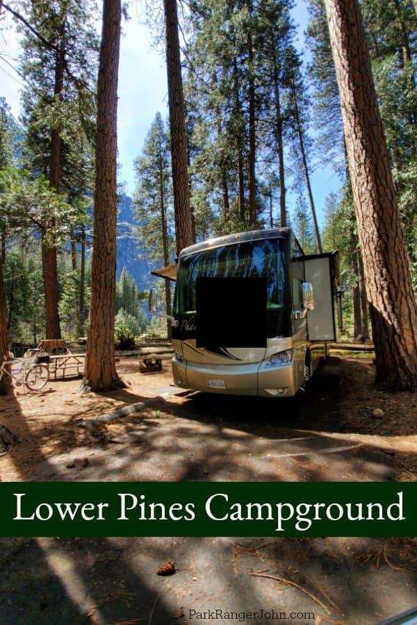 Lower Pines Campground - Yosemite National Park   Park ...