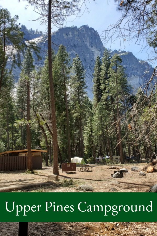 Upper Pines Campgrounds – Yosemite National Park
