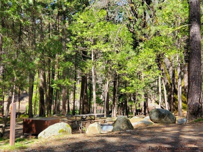 Wawona Campground - Yosemite National Park - Park Ranger John