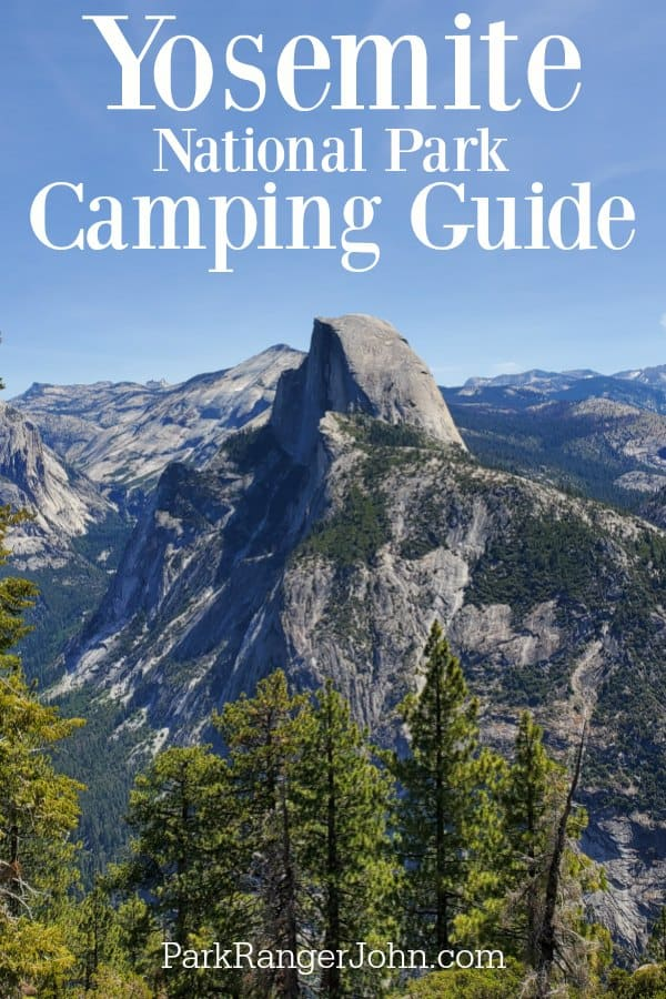 Yosemite National Park Camping Guide! Breakdown of all 13 campgrounds in Yosemite, site photos, reservations, tips to score a campsite and more. #yosemite #nationalpark #camping