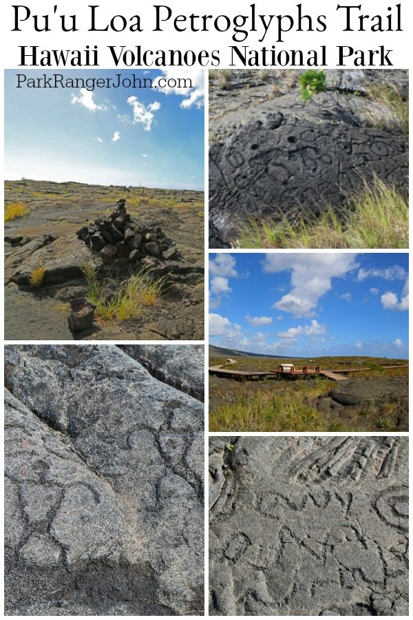 Pu'u Loa Petroglyphs Trail – Hawaii Volcanoes National Park