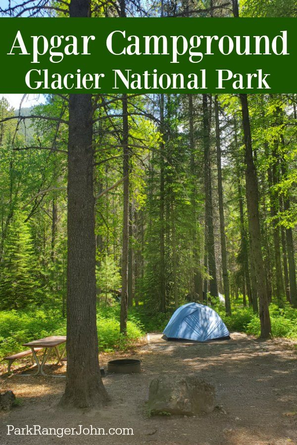 Apgar Campground – Glacier National Park