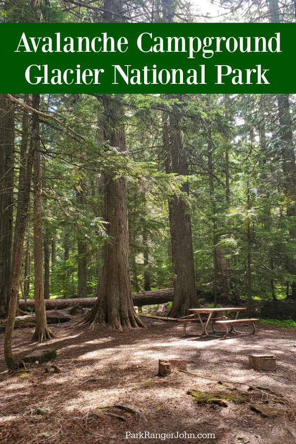 Avalanche Campground – Glacier National Park