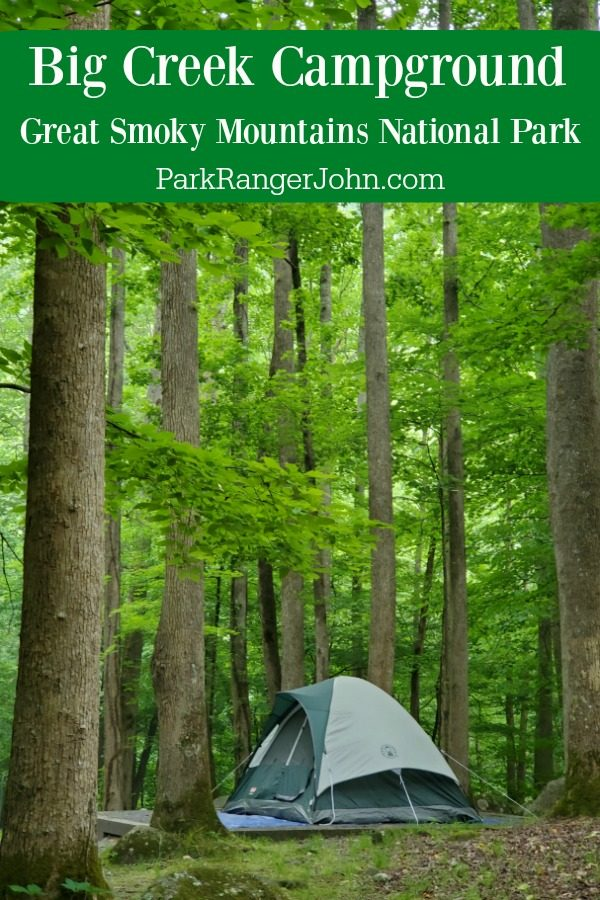 Big Creek Campground – Great Smoky Mountains