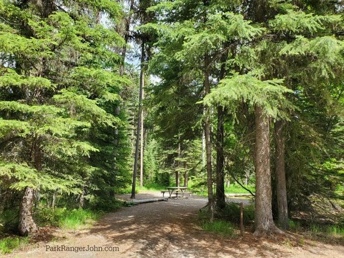 Bowman Lake Campground - Glacier National Park - Park Ranger