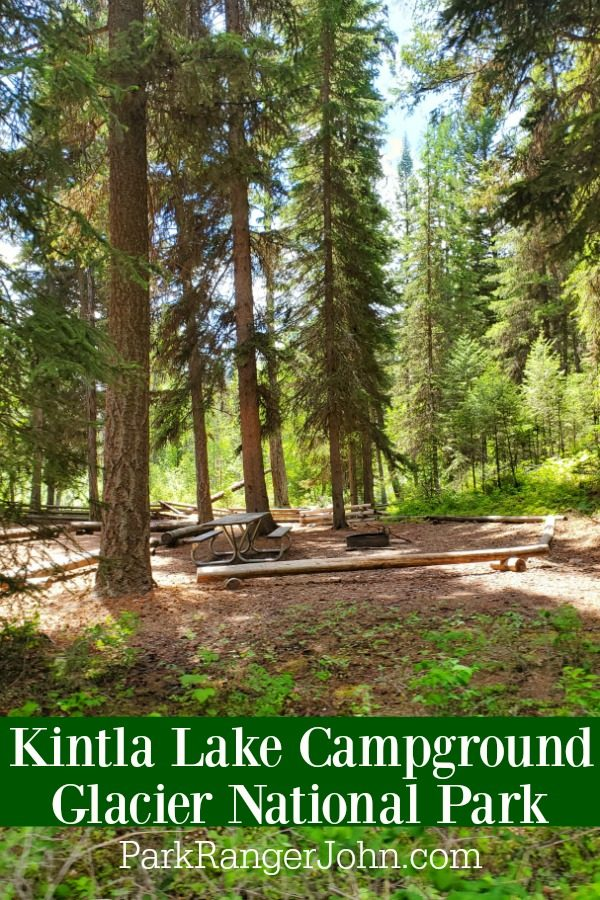 Kintla Lake Campground – Glacier National Park