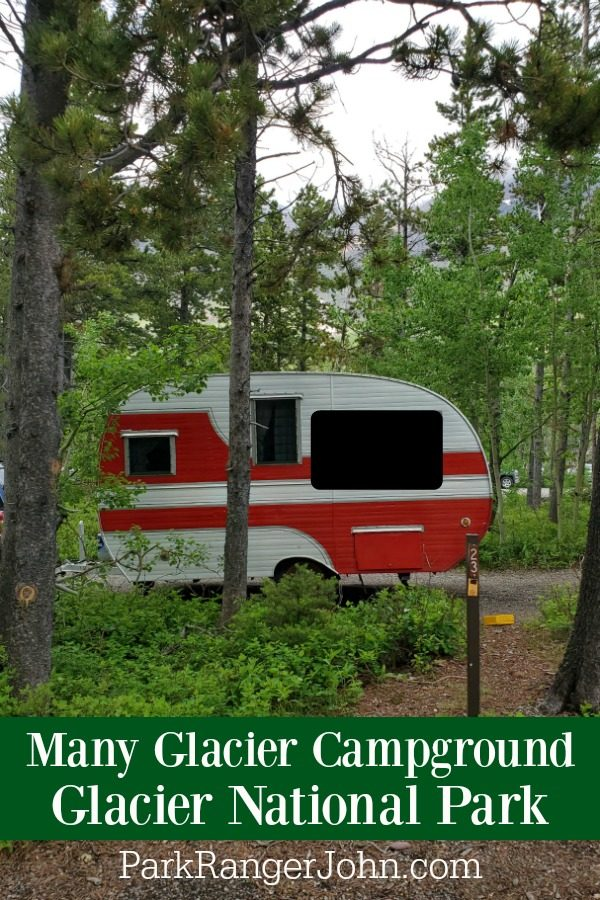 Many Glacier Campground – Glacier National Park