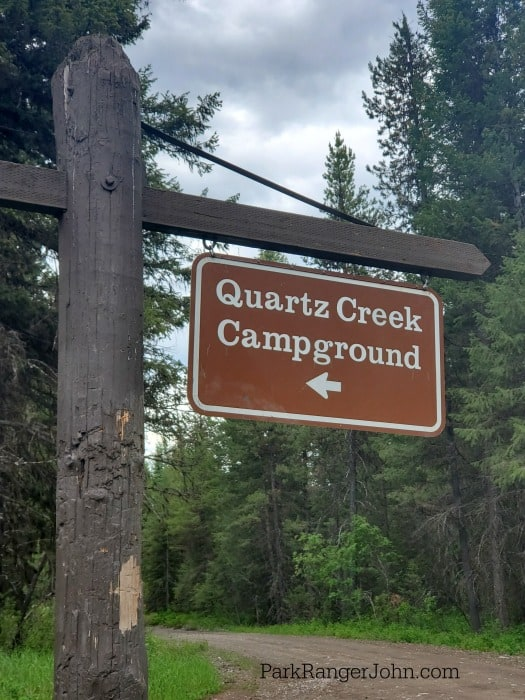 Quartz Creek Campground – Glacier National Park