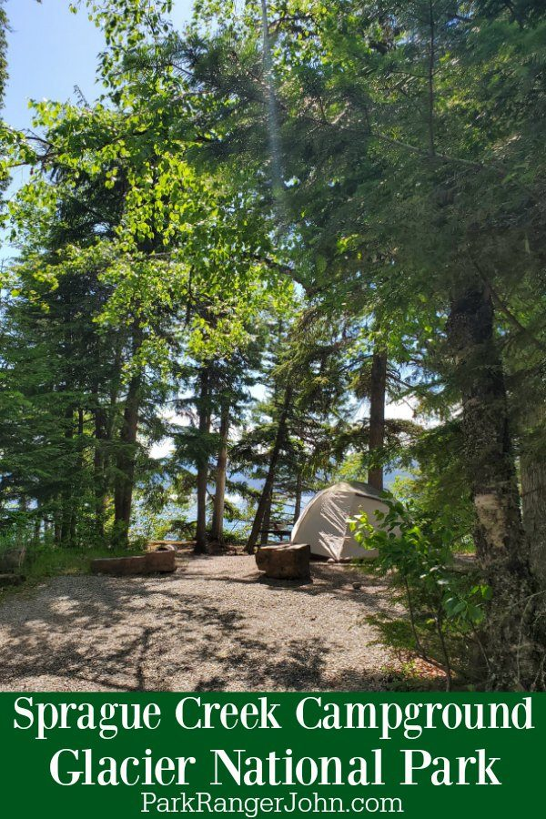 Sprague Creek Campground – Glacier National Park