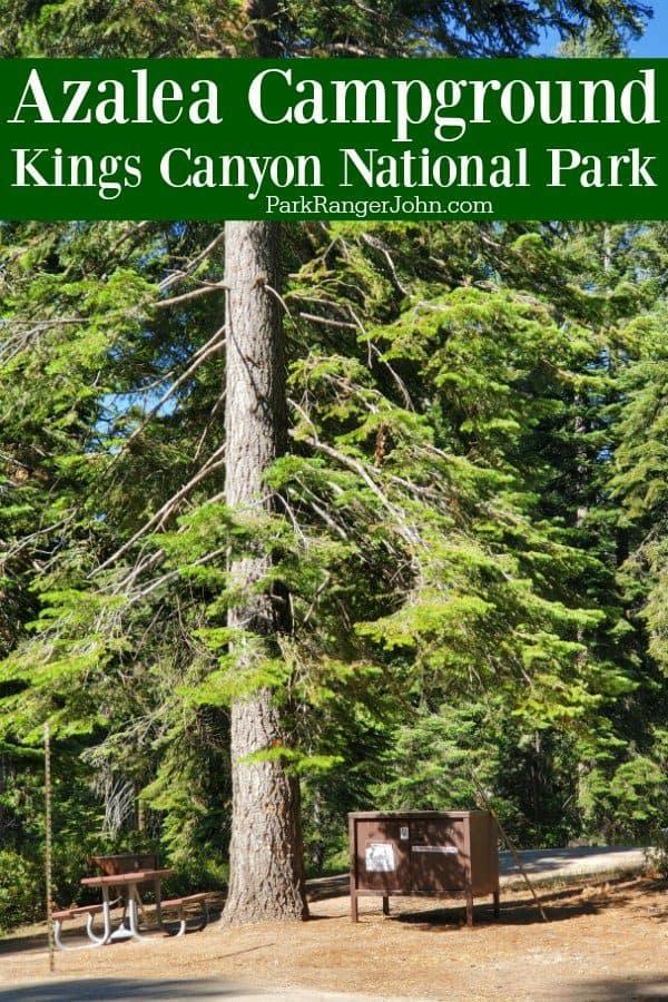 Azalea Campground – Kings Canyon National Park
