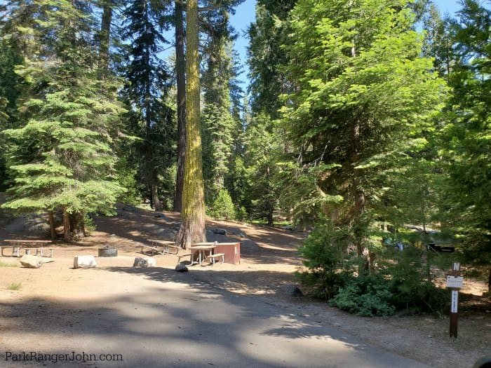 Crystal Springs Campground - Kings Canyon National Park