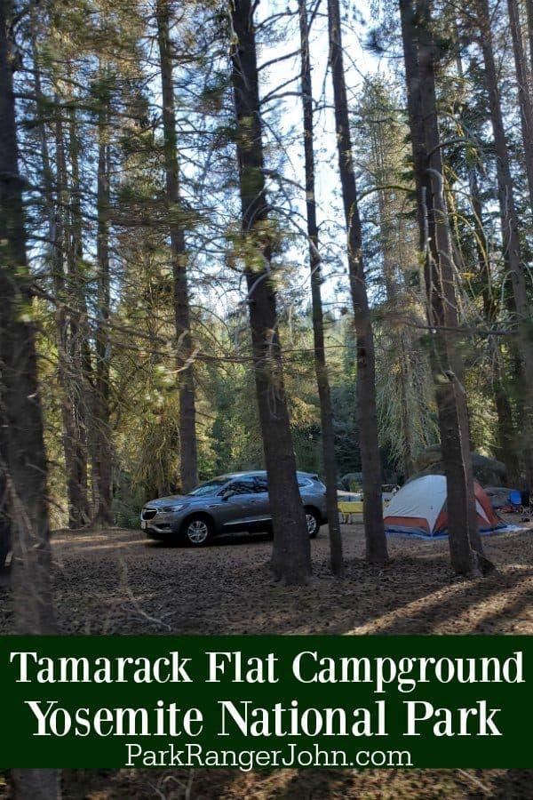 Tamarack Flat Campground – Yosemite National Park