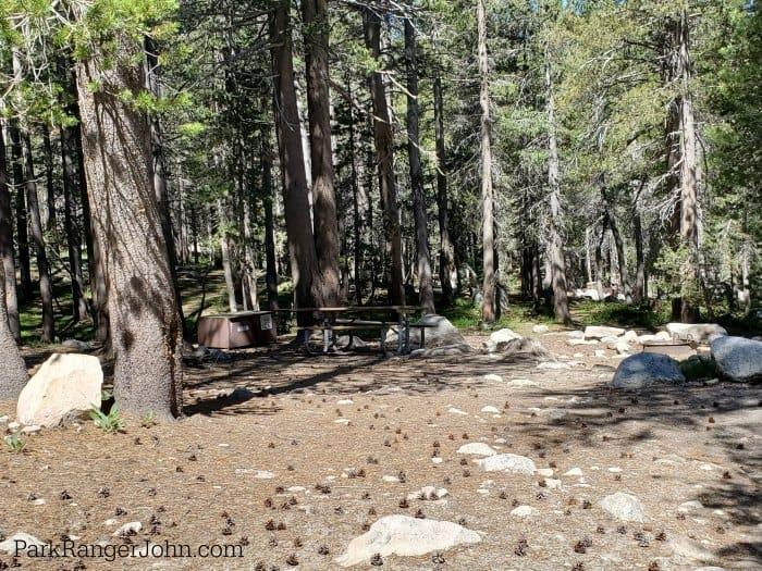 Tuolumne Meadows Campground - Yosemite National Park - Park