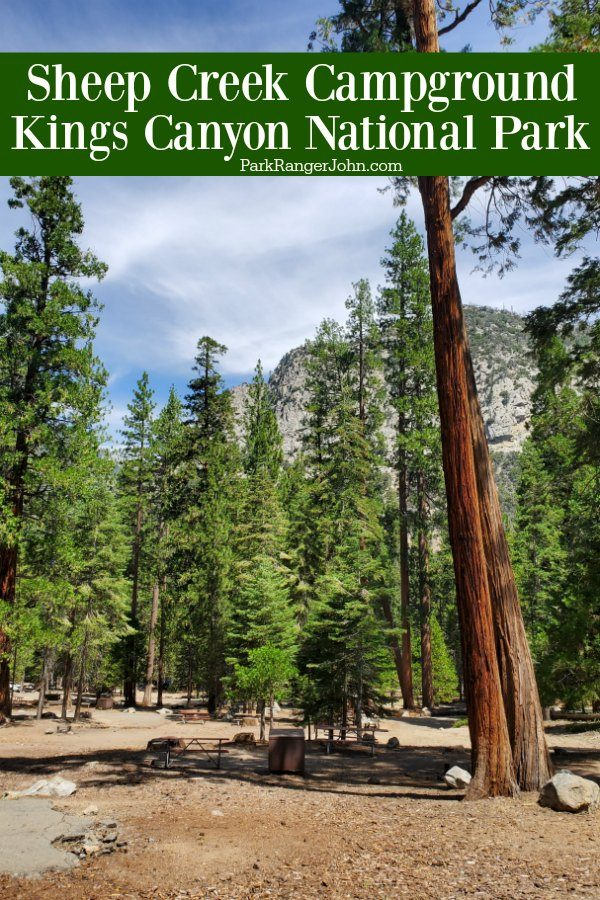 Sheep Creek Campground – Kings Canyon National Park