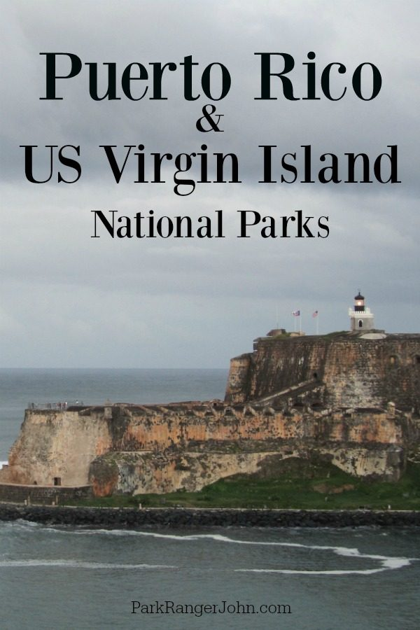 US Virgin Island and Puerto Rico National Parks
