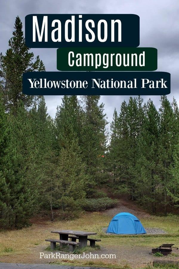 yellowstone madison campground map Madison Campground Yellowstone National Park Park Ranger John yellowstone madison campground map